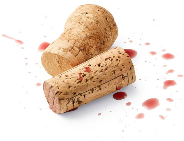 Wine Corks with Splash